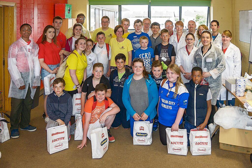 Group Photo at the Forscherwelt Ireland