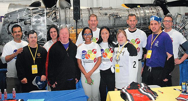 Henkel volunteers at the Special Olympics in the USA
