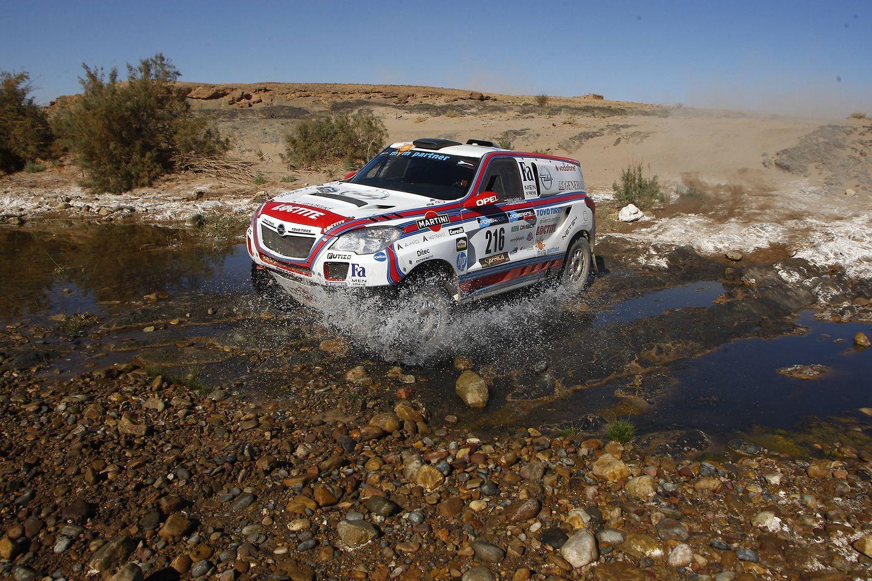 Henkel has cooperated with Balázs Szalay and the Opel Dakar Team since 2007.