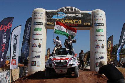 Szalay Dakar Africa Eco Race 1