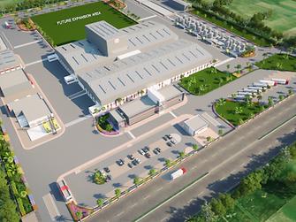 Kurkumbh plant – layout