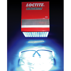 The LOCTITE LED Flood System provides simple, safe and cost effective light curing for LOCTITE 3921.