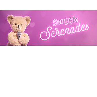 Have Snuggle Bear serenade your friends and loved ones this Valentine's Day