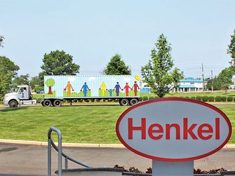 Henkel's very own Cargo of Dreams container departs Bridgewater to begins its journey to South Africa.