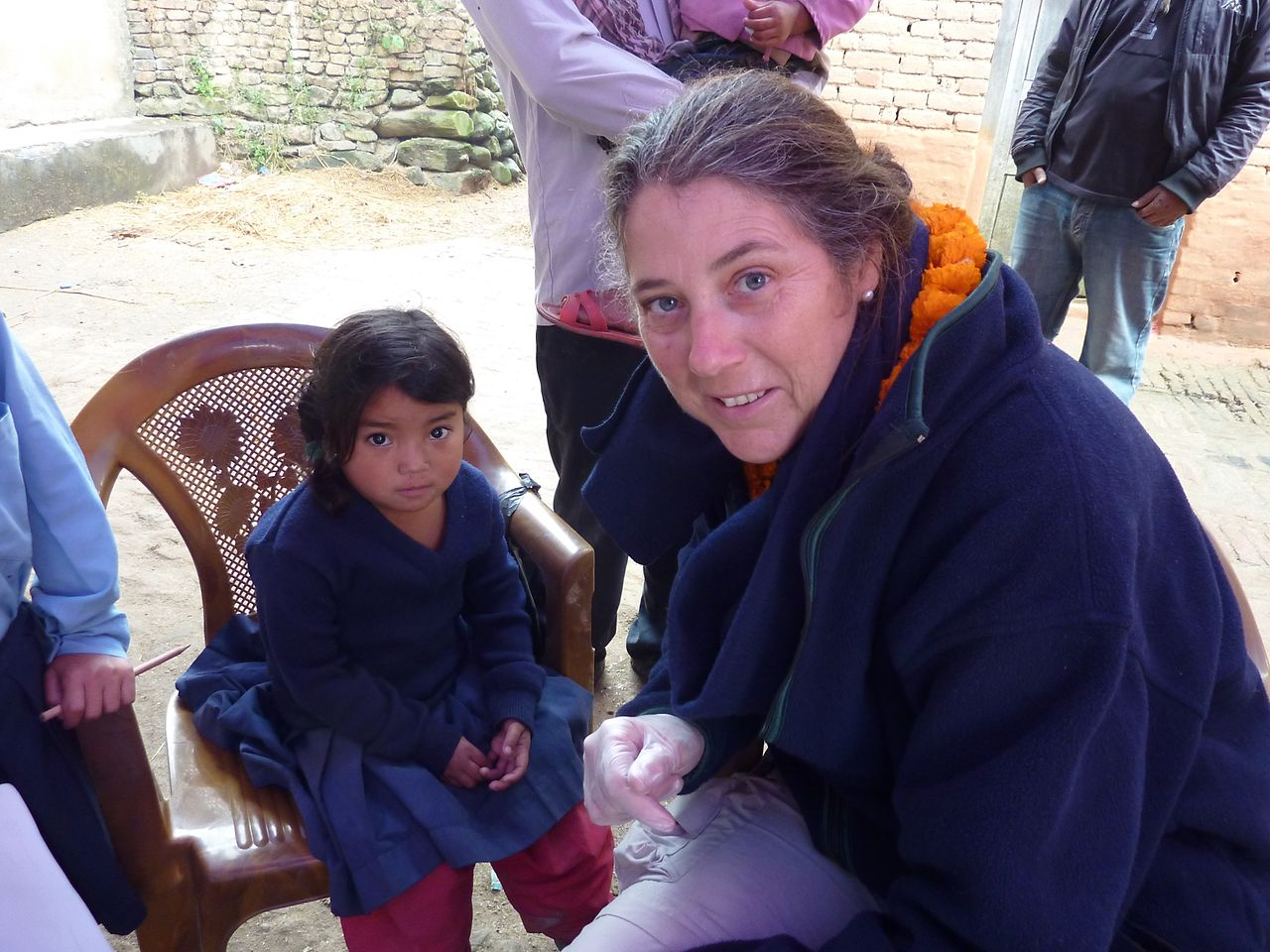 Susanne Volkmann and her team have been able to help over 10,000 children, from newborns to teenagers.
