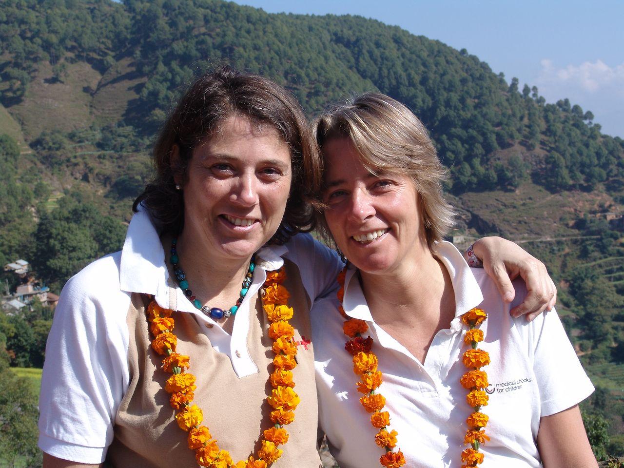 Together as a team: Susanne Volkmann and Dr. Ines von Rosenstiel.