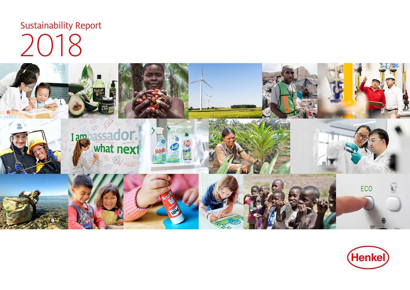 Rapport om holdbar udvikling 2018 (Cover)