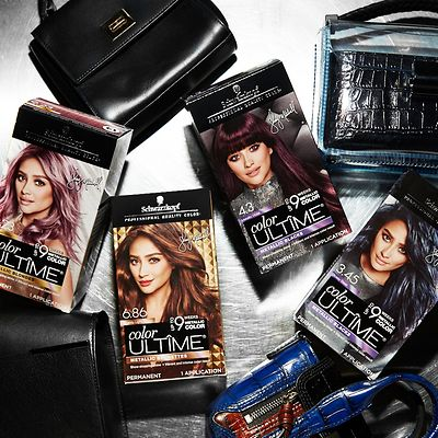 Color ULTÎME has partnered with actress, influencer and entrepreneur, Shay Mitchell, to create a line extension of four permanent metallic hair color shades