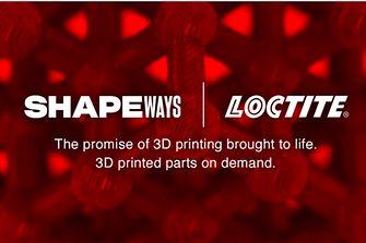 Henkel und Shapeways kooperieren für industrielle 3D-Druck-Lösungen in der Serienfertigung.